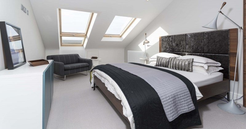 Loft conversion bedroom designs