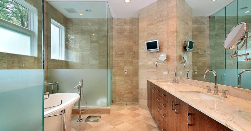 Modern design shower doors