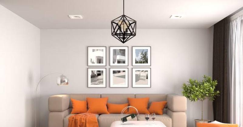 Modern living room pendant lights
