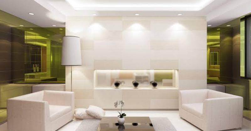 Modern living room wall lighting ideas