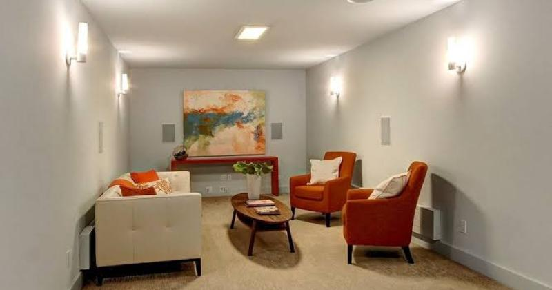 Modern living room wall lights