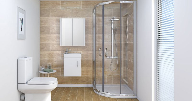 Modern shower designs without doors