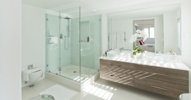 Modern shower stall design ideas