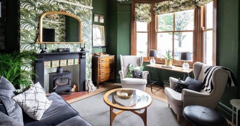 Modern victorian house interior design