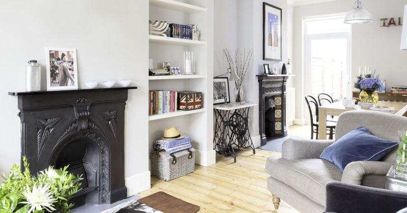 Modern victorian house interior uk