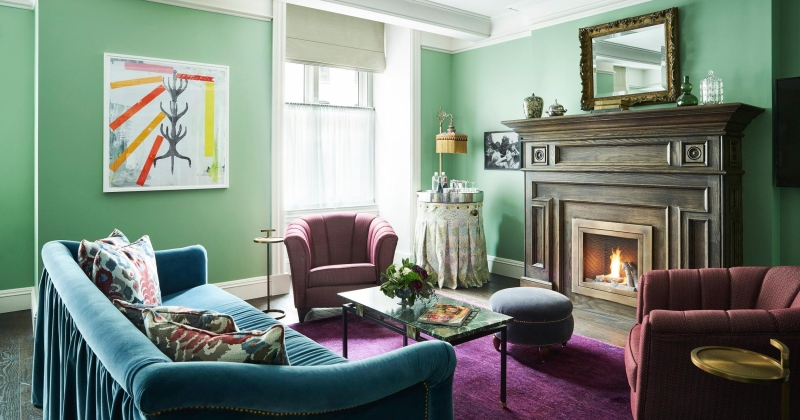 Modern victorian interior paint colors