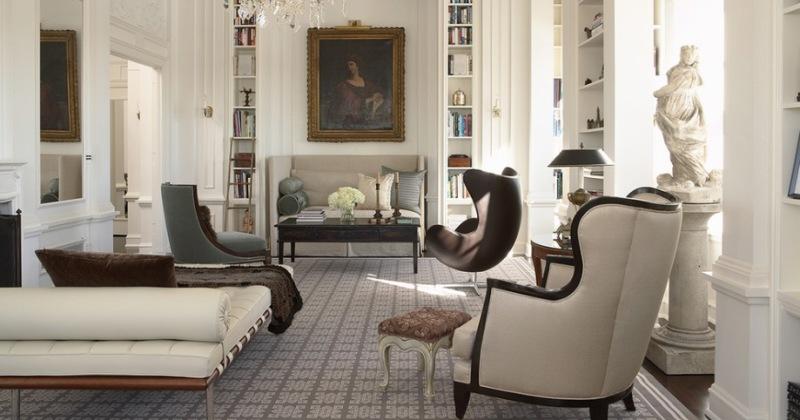 Modern victorian style homes interior