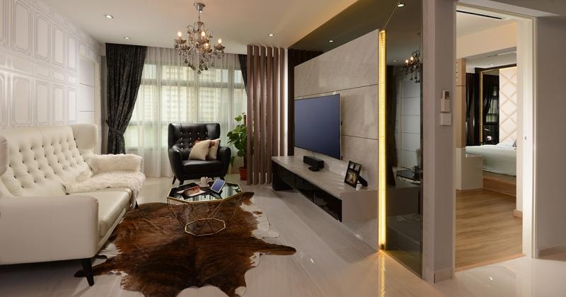 Modern victorian style interior design singapore