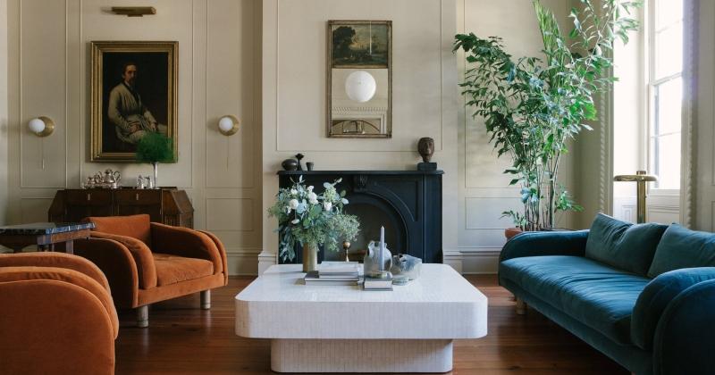 Modern victorian style interior design