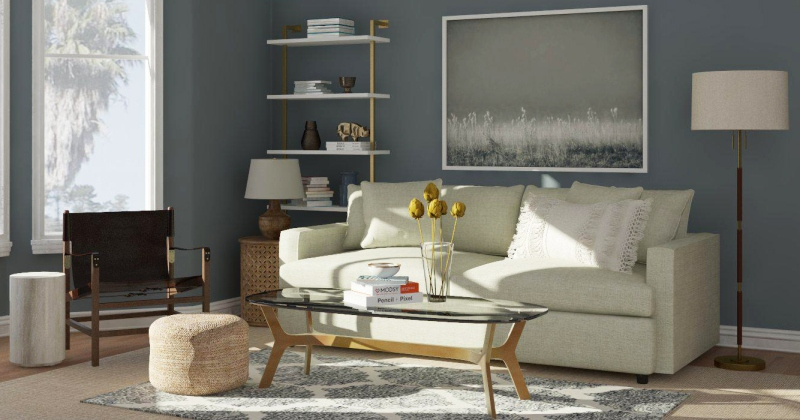 Paint color for small living room