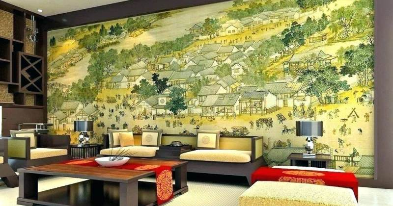 Paint living room mural