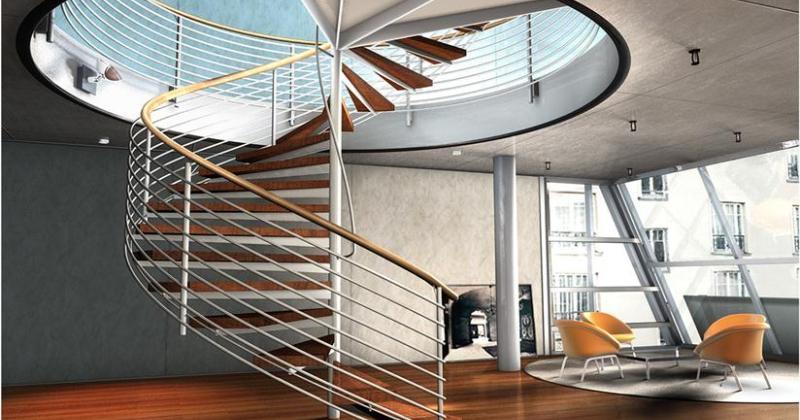 Sculptural Staircase design terminology