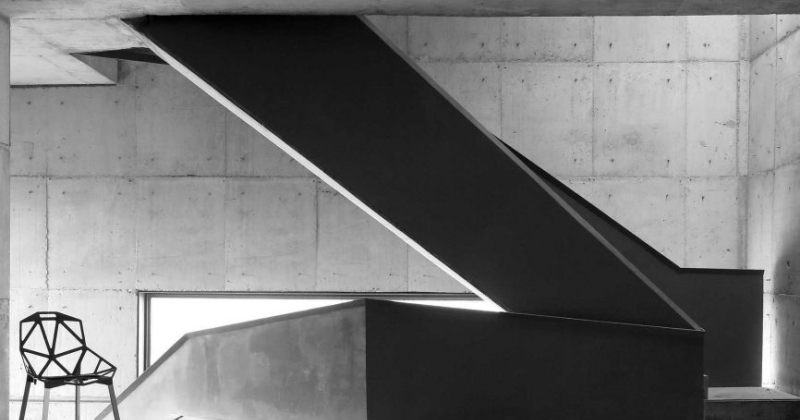 Sculptural staircase design images