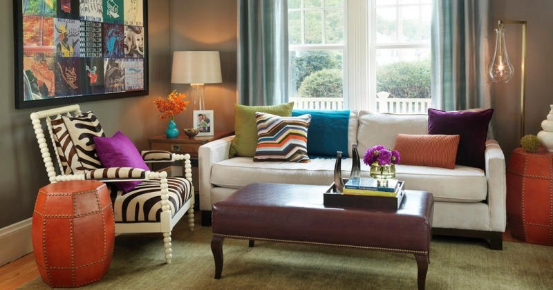Small living room colour ideas