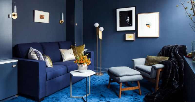 Small living room colour schemes