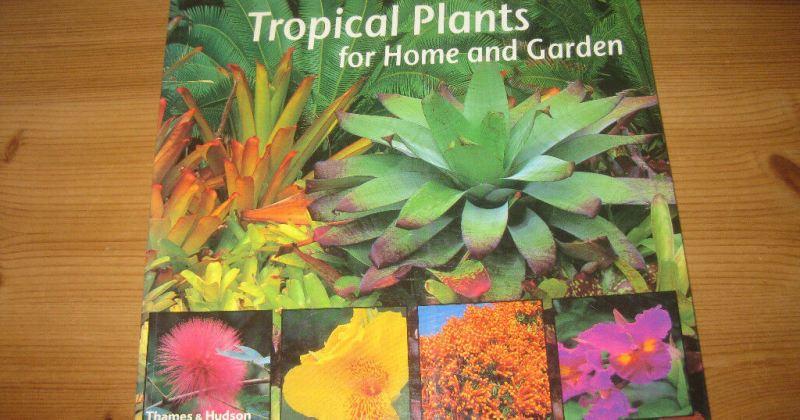 Tropical garden plants book