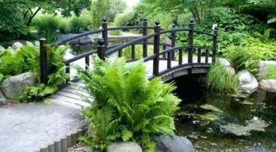 Wooden Garden Bridge Designs