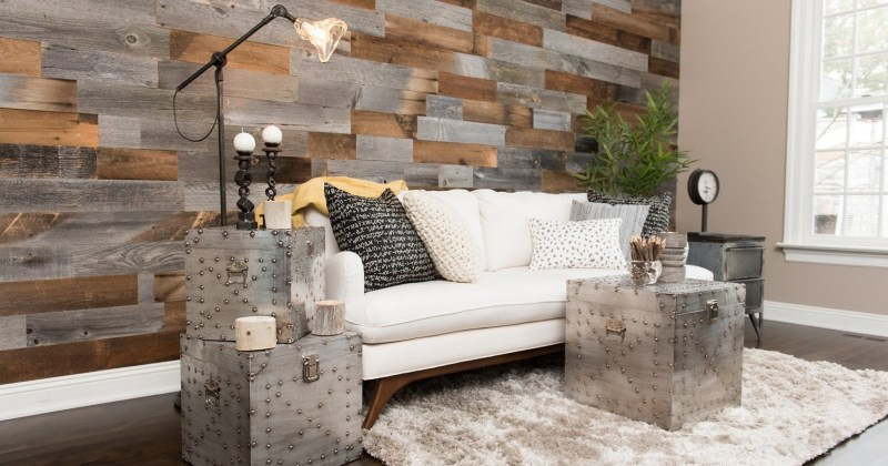 Wooden wall covering