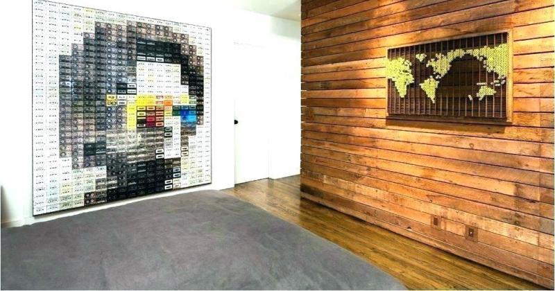 Wooden walls art