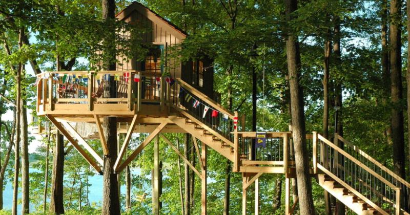 Awesome treehouse ideas