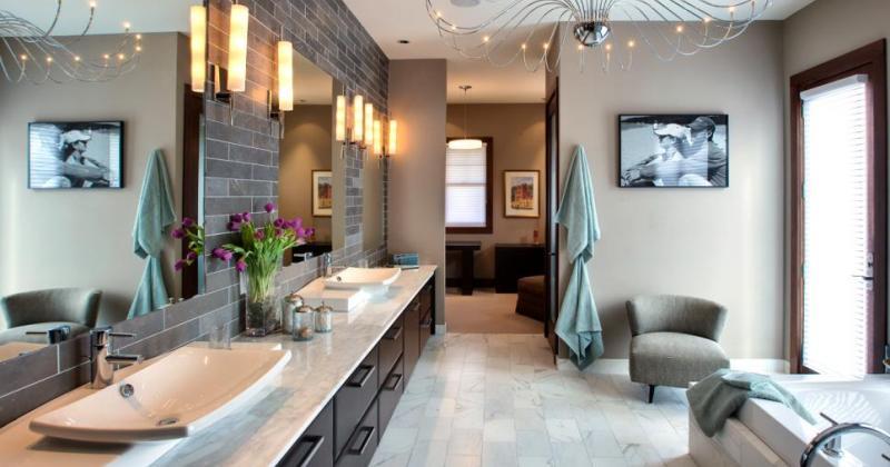 Bathroom lighting ceiling