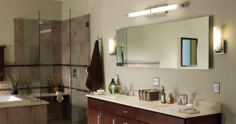 Bathroom lighting fixtures home depot