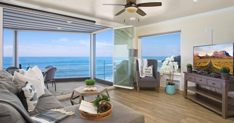 Beach front apartment for sale