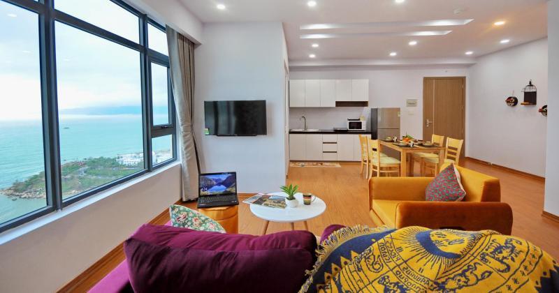Beach front apartments nha trang