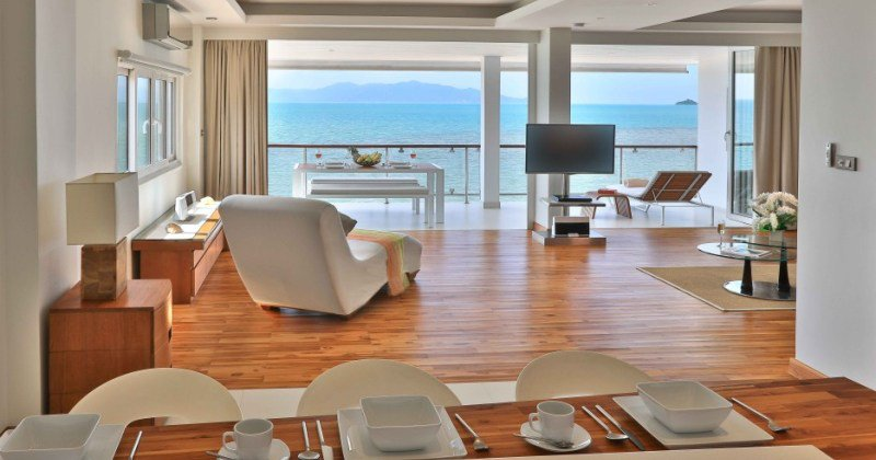 Beachfront apartments for rent