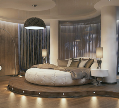 Bedroom Round Beds