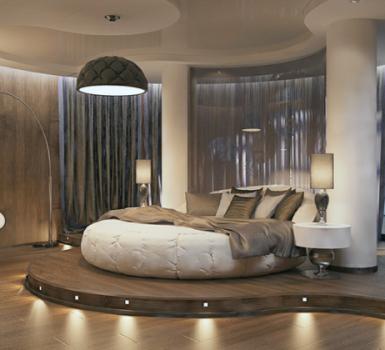 Bedroom Round Beds