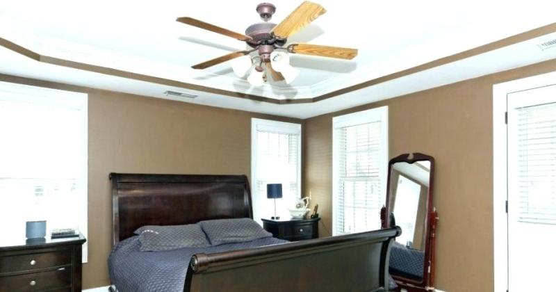 Bedroom chandelier ceiling fan