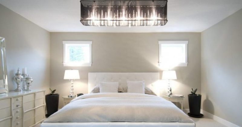 Bedroom chandelier design