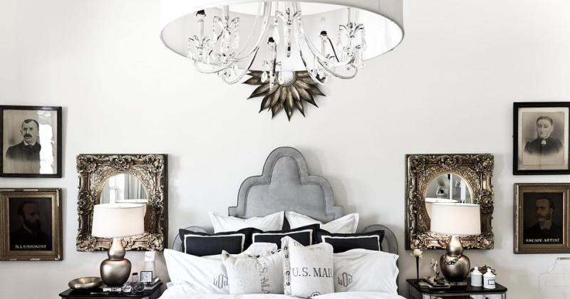 Bedroom chandelier lamp shade