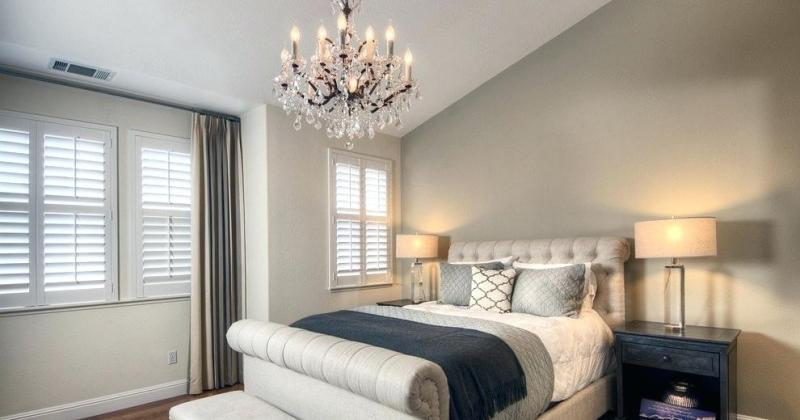 Bedroom chandelier lighting ideas