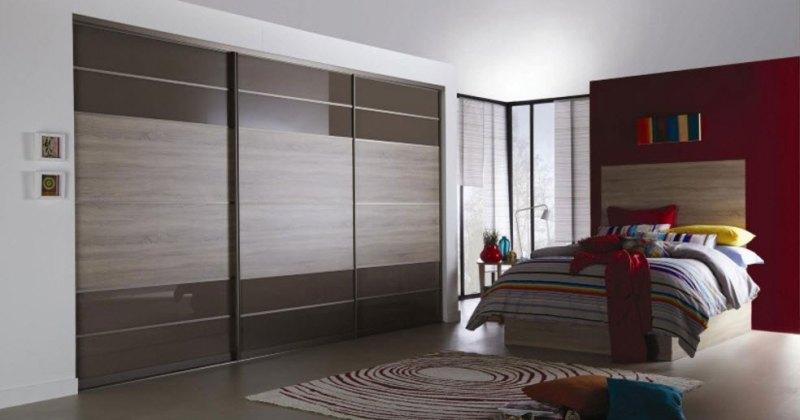 Bedroom cupboard color combinations