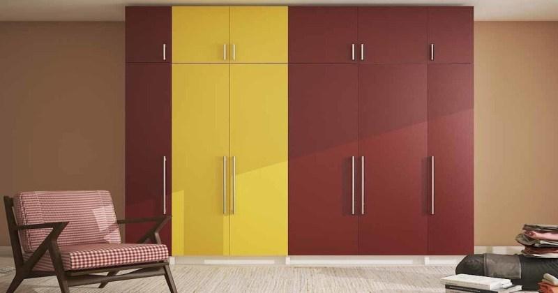 Bedroom cupboard colour