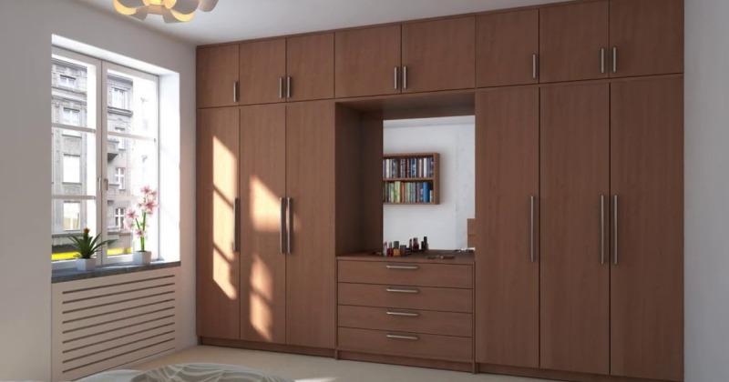 Bedroom cupboard designs india