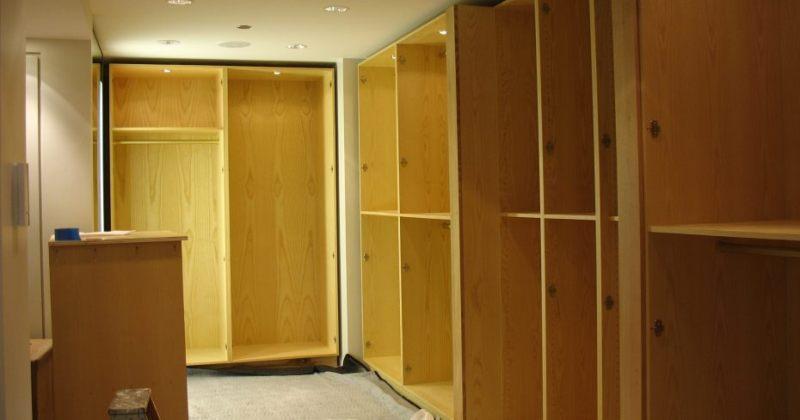 Bedroom cupboard plans