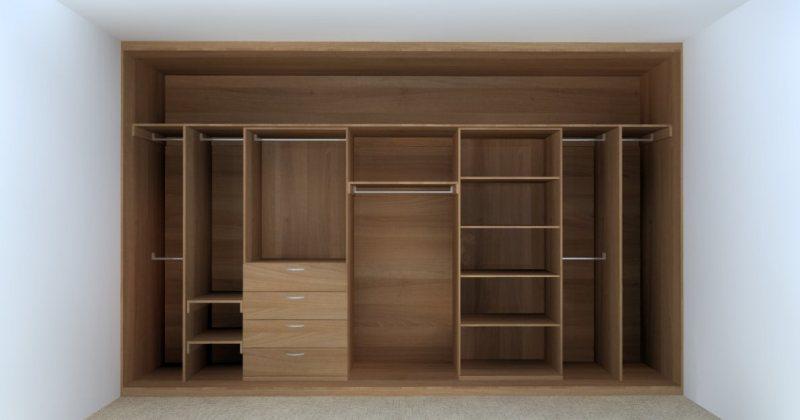 Bedroom cupboard storage ideas