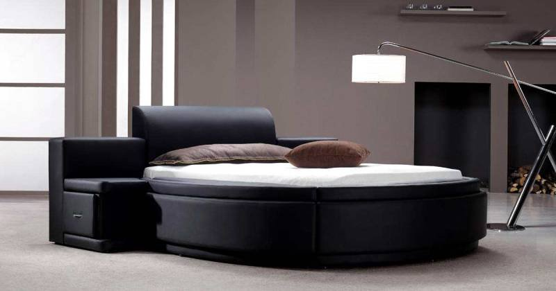 Bedroom furniture round beds