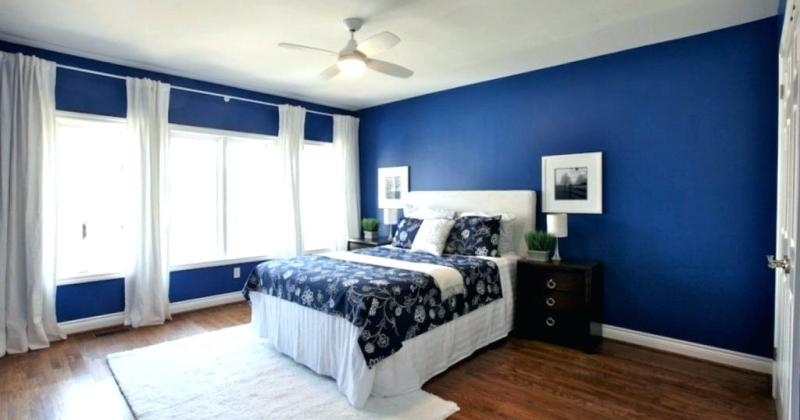 Blue and white bedroom designs