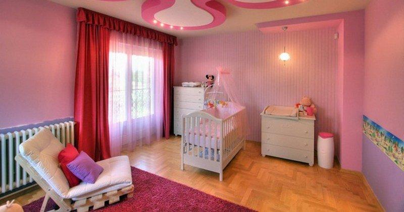 Ceiling design for children's room