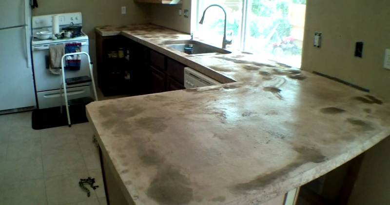Cement countertops vs granite