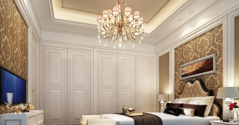 Chandelier for bedroom ideas
