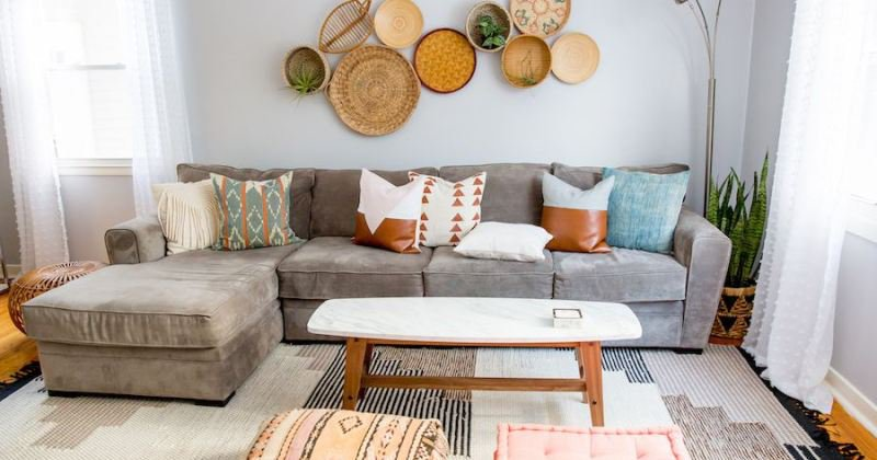 Chic couch pillows