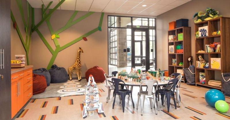 Children's activity room design