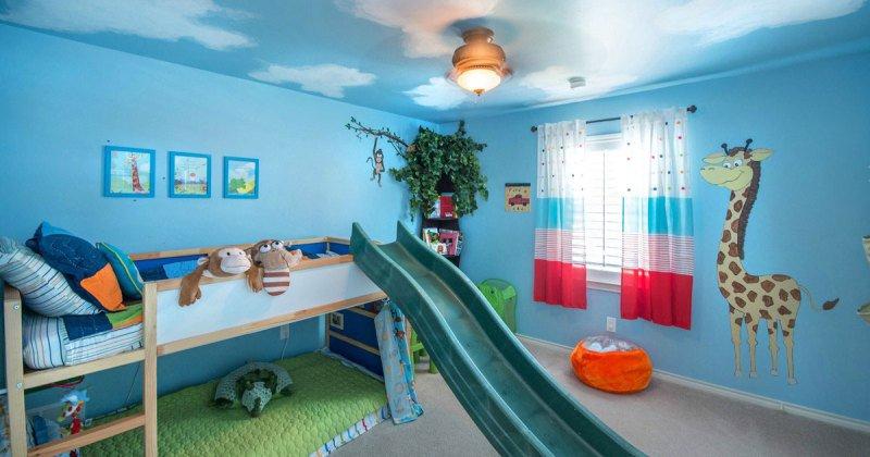 Childrens bedroom ceiling design