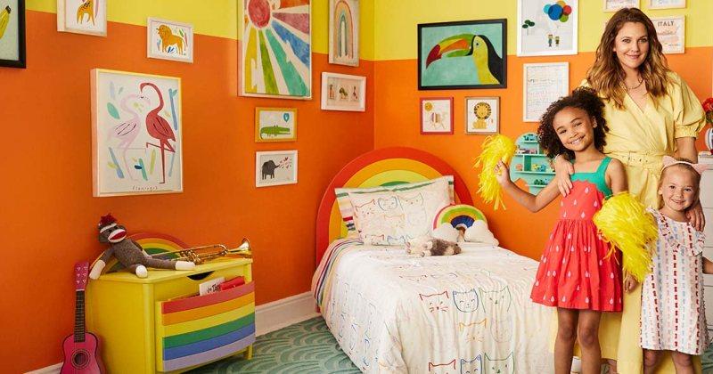 Childrens bedroom ideas rainbow