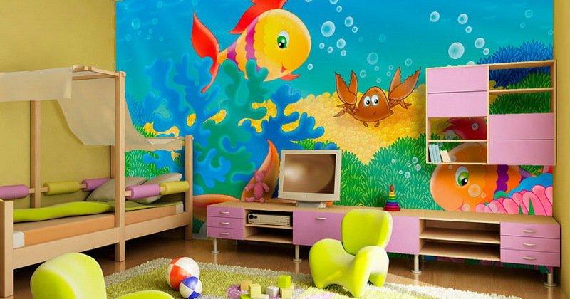 Children's room decor wall art